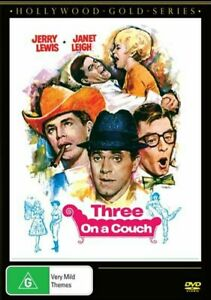Three On  A Couch (Jerry Lewis) DVD BRAND NEW SEALED 💥💥