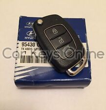 Genuine Hyundai Santa Fe Remote Key (2015 + ) 95430-2W410 - Cut to Your Car
