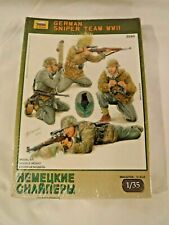 1/35 Zvezda German Sniper Team WWII 4 Figures & Equipment # 3595