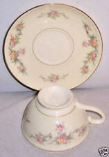 pattern Countess by Homer Laughlin Co Footed Cup & Saucer Set