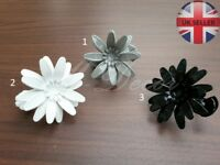 Set of two metal Tie Back, Clips, Buckle, Holder, decoration of curtain flowers