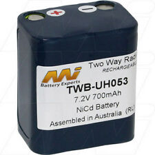 7.2V 700mAh Replacement Battery Compatible with Uniden BT481
