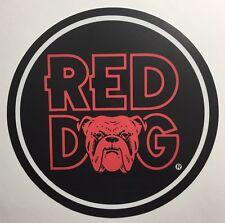 """Red Dog Beer 7"""" Metal Circle Sign"""