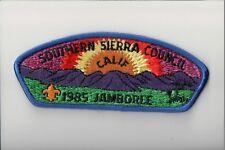 Southern Sierra Council 1985 JSP