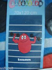 SUPERBE DRAP DE BAIN PLAGE PISCINE BARBAPAPA BARBIDUR 70X120 CM NEW NEUF