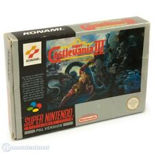 Nintendo SNES Spiel - Super Castlevania IV mit OVP