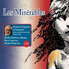 Les Misérables-version originaux et intégraux (M. SARDOU/R. LAURENS/+) 2 CD NEUF