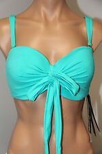 NWT Coco Reef Swimsuit Bikini Bra Top Size 36/38D Five Way Bra Jade