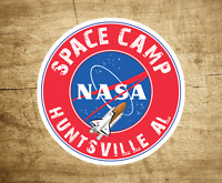 "NASA Space Camp Sticker Decal Huntsville Alabama Space Shuttle Rocket 3"""