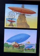 Sao Tome & Principe-1983-2 Unused Balloon postcard FDC's