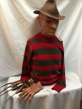 Silicone Freddy Krueger Complete Mask left hand  Christian Cocco Glove Sweater