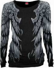 SPIRAL DIRECT SERAPHIM  Allover Baggy LADIES Top/Gothic/Elegance/Wings/Tribal