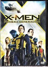 X-MEN: PRIMERA GENERACIÓN de Matthew Vaughn Tarifa plana en envío dvd España 5 €
