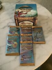 6 Harry Potter Quidditch Cup FACTORY SEALED Packs New Trading Card Game TCG Mint