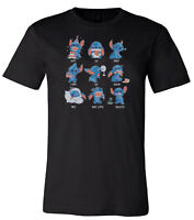 Disney Stitch T-Shirt Stitches Feelings Cute Men's & Ladies T-Shirts