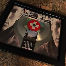 Eminem Recovery Double Platinum Record Disc Album Music Award MTV Grammy RIAA