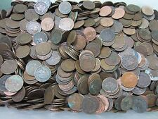 (50) Indian Head Penny Roll // 1800's+1900's // 50 Coins // Low Grade + BONUS.