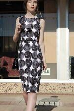 Polka Dot Knee-Length Stretch, Bodycon Dresses for Women