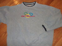 WALT DISNEY WORLD embroidered long sleeve sweater Adult Large Mickey Mouse
