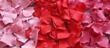 50 edible ROSE PETALS cake decorations CUPCAKE TOPPER wedding BIRTHDAY flower