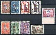 BELGIEN 1928 235-243I meist ** POSTFRISCH 1800€(Z0871