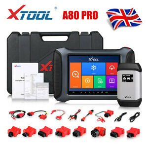 XTOOL A80 PRO Car OBD2 Scanner KEY ECU Programming&Coding VIN Reader Diagnostic