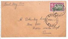 Y178 1942 Fiji *SUVA* FDC {samwells-covers}PTS