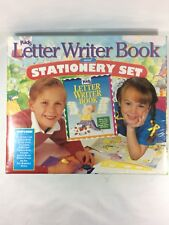 Reader's Digest Kids Letter Writer Book & Stationery Set New in package
