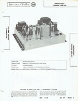 ORIGINAL Magnavox Amplifier AMP-149 service Manual PHOTOFACT SCHEMATIC /SM180