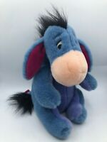 Disney Store Winnie The Pooh Eeyore Blue Donkey Plush Kids Stuffed Toy Animal