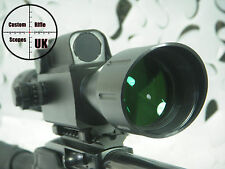 Rifle scope ranger finder 6x42 500m with lockable turrets ( just dial & shoot )
