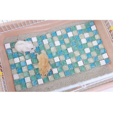 Hamster Cooling Mat Pet Cooling Pad for Small Hedgehogs Guinea Pig Hamster