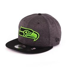 Era 9fifty Seattle Seahawks Fitted Cap kappe Graphite schwarz 94074