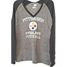 Pittsburgh Steelers NFL womens new size medium shirt Team Apparel long sleeves