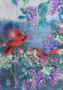 "Cardinals Standard House Flag by Toland 28"" x 40"" Colorfast and Durable!  #0582"