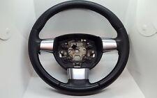 2008-2012 Ford Focus 3 Chrome Spoke Leather Black Steering Wheel 4M51-3600-EL