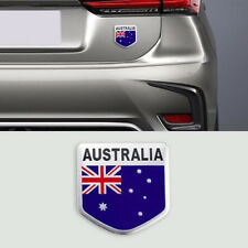 3D Aussie Shield Australia AU Flag Emblem Logo Moto Boot Wing Badge Car Sticker