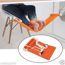 Novelty Portable Mini Office Foot Rest Stand Adjustable Desk Feet Hammock Hot
