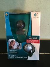 NIB Logitech Webcam Camera C250h - For Easy Video Calling That's Crisp & Clear