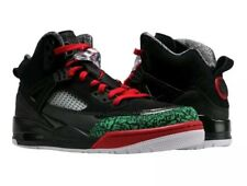 Nike Air Jordan Spizike Black/Red/Green Mens Basketball Shoes Size10.5 Christmas