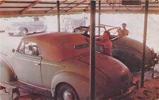 Miami FL Custom Making Convertible Car Tops Postcard