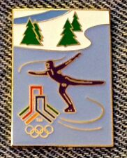 Figure Skating Olympic Pin~SLC 2002~Bid Logo~LE~Salt Lake City~Winter Games
