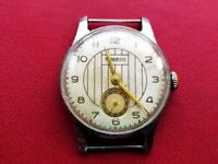 Vintage Soviet Watch Pobeda 2602 Russian Mechanical Classic Wristwatches USSR