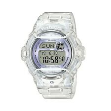 Casio Baby-G BG-169R-7E Digital Semi Transparent Clear Resin Ladies Sport Watch