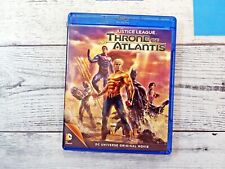New listing Justice League: Throne of Atlantis (Blu-ray + Dvd 2015, 2-Disc Set)