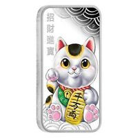 2018 LUCKY CAT 1oz Silver Proof Coin