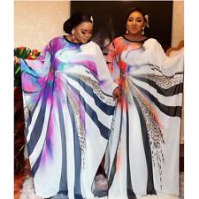 Moroccan Africa Abaya Dubai Kaftan Muslim Women Farasha Maxi Dress Party Gown