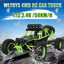 WLtoys 12428 1:12 2.4G 50km/h 4WD 4CH  RC Car Truck Off-road Crawler Buggy Toy