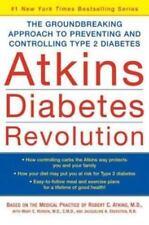 Atkins Diabetes Revolution :The Groundbreaking Approach ... Mary Vernon hc dj 1s