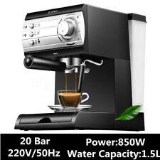 Christmas Semi Automatic Coffee Maker Barista Espresso Machine Milk Steamer New